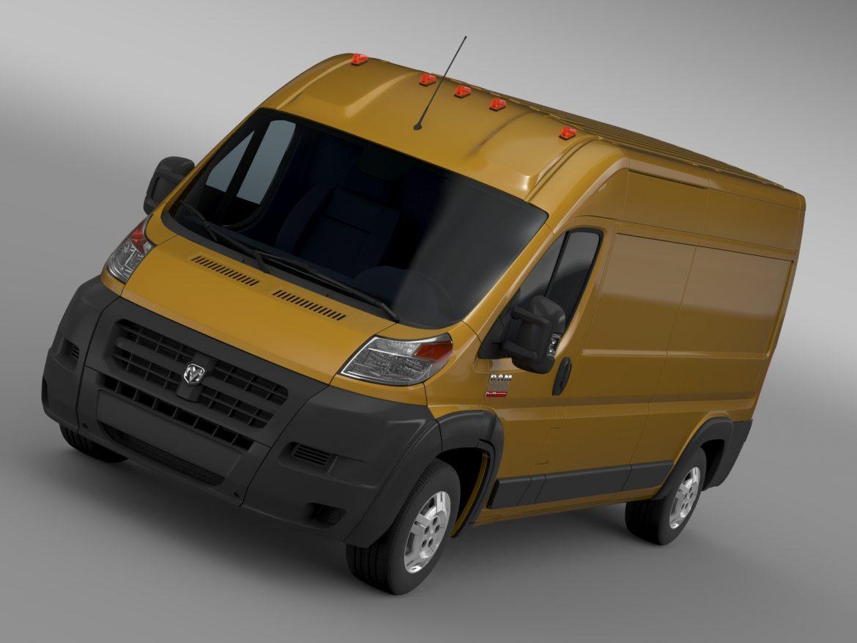 ram promaster cargo 2500 hr 159wb 2015 3d model 3ds max fbx c4d lwo ma mb hrc xsi obj 209459