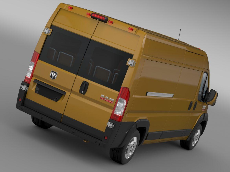 ram promaster cargo 2500 hr 159wb 2015 3d model 3ds max fbx c4d lwo ma mb hrc xsi obj 209460