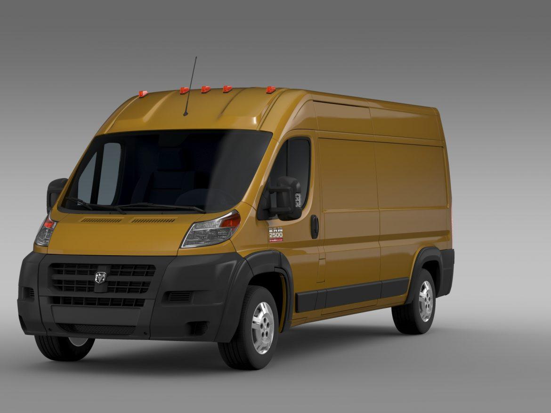 ram promaster cargo 2500 hr 159wb 2015 3d model 3ds max fbx c4d lwo ma mb hrc xsi obj 209462