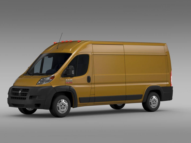 ram promaster cargo 2500 hr 159wb 2015 3d model 3ds max fbx c4d lwo ma mb hrc xsi obj 209463
