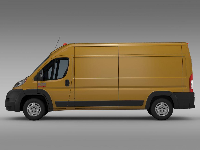ram promaster cargo 2500 hr 159wb 2015 3d model 3ds max fbx c4d lwo ma mb hrc xsi obj 209464