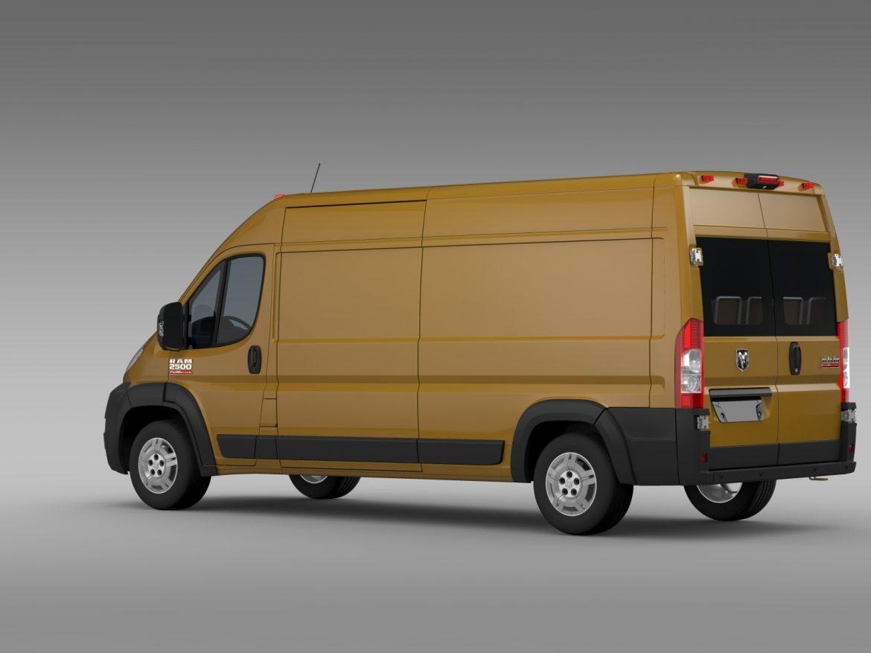 ram promaster cargo 2500 hr 159wb 2015 3d model 3ds max fbx c4d lwo ma mb hrc xsi obj 209465