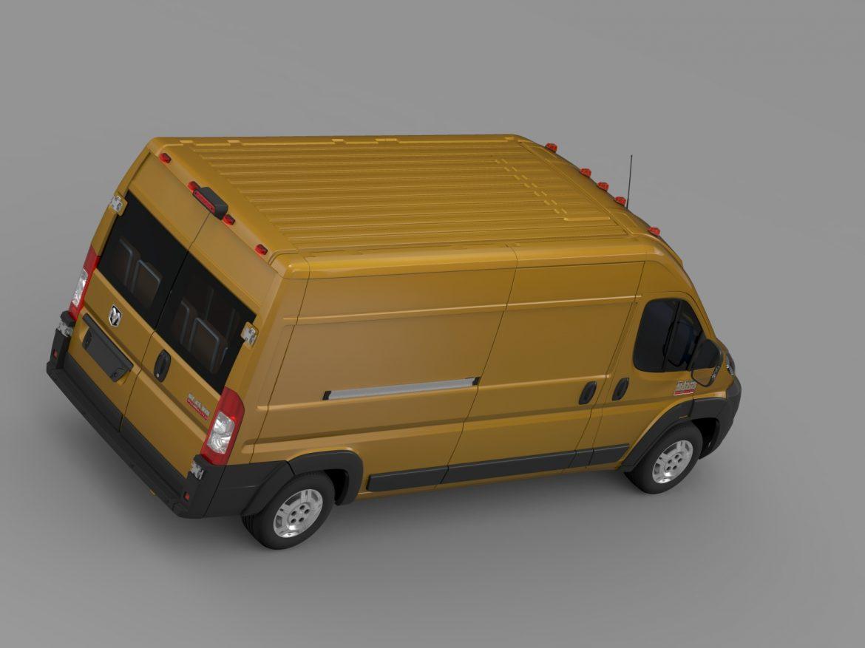 ram promaster cargo 2500 hr 159wb 2015 3d model 3ds max fbx c4d lwo ma mb hrc xsi obj 209468