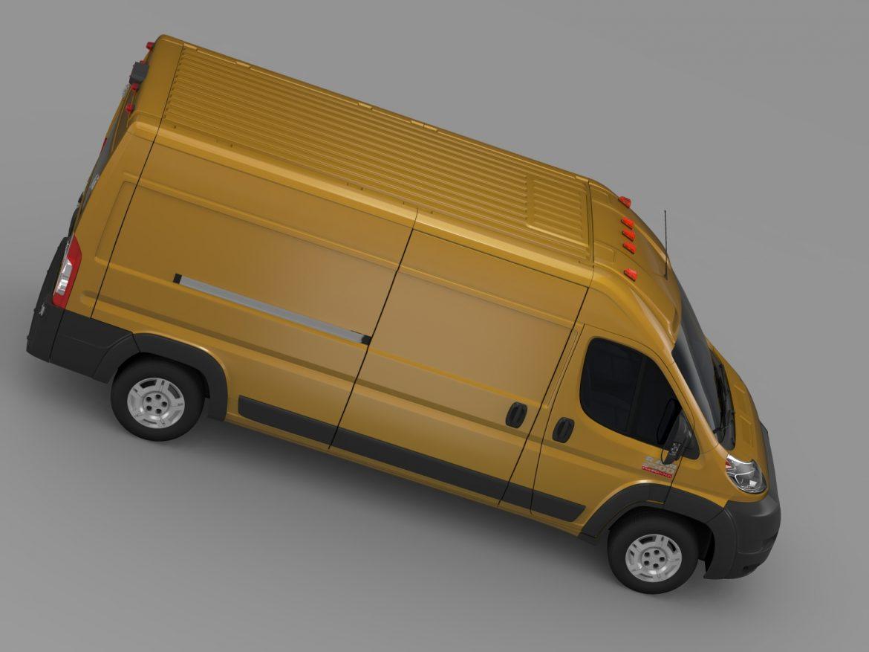 ram promaster cargo 2500 hr 159wb 2015 3d model 3ds max fbx c4d lwo ma mb hrc xsi obj 209469