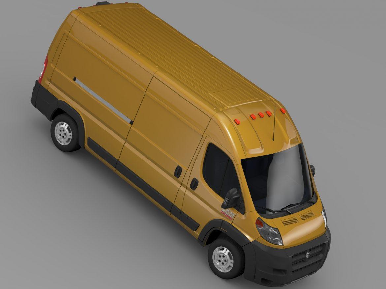 ram promaster cargo 2500 hr 159wb 2015 3d model 3ds max fbx c4d lwo ma mb hrc xsi obj 209470