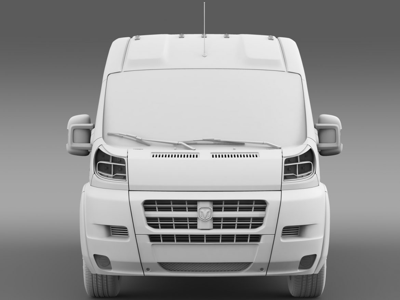 ram promaster cargo 2500 hr 159wb 2015 3d model 3ds max fbx c4d lwo ma mb hrc xsi obj 209471