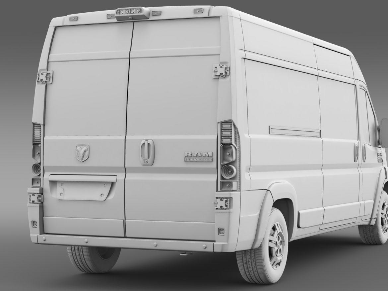 ram promaster cargo 2500 hr 159wb 2015 3d model 3ds max fbx c4d lwo ma mb hrc xsi obj 209474