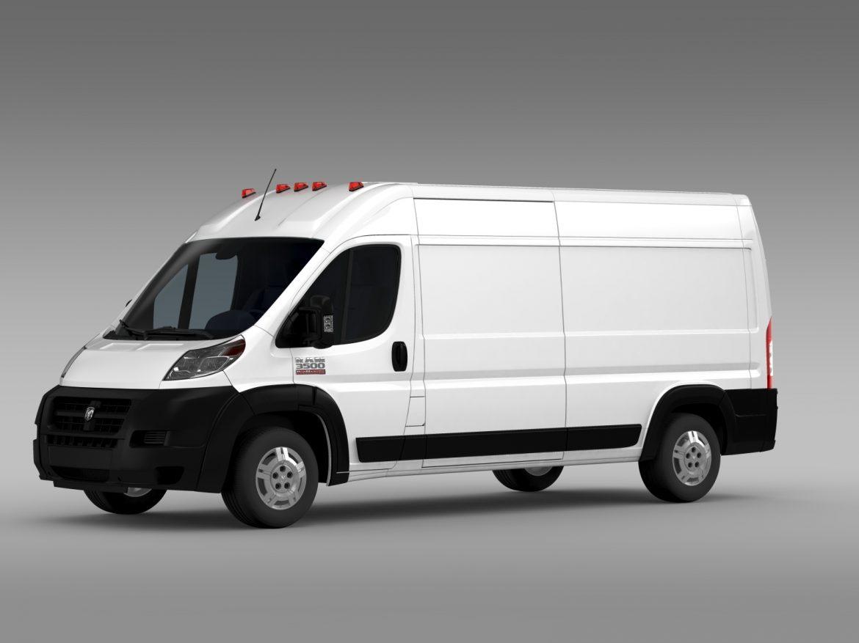 ram promaster cargo 3500 hr 159wb 2015 3d model 3ds max fbx c4d lwo ma mb hrc xsi obj 209483