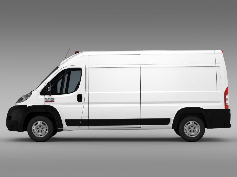 ram promaster cargo 3500 hr 159wb 2015 3d model 3ds max fbx c4d lwo ma mb hrc xsi obj 209484