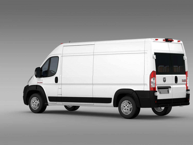ram promaster cargo 3500 hr 159wb 2015 3d model 3ds max fbx c4d lwo ma mb hrc xsi obj 209485