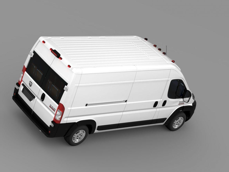 ram promaster cargo 3500 hr 159wb 2015 3d model 3ds max fbx c4d lwo ma mb hrc xsi obj 209488