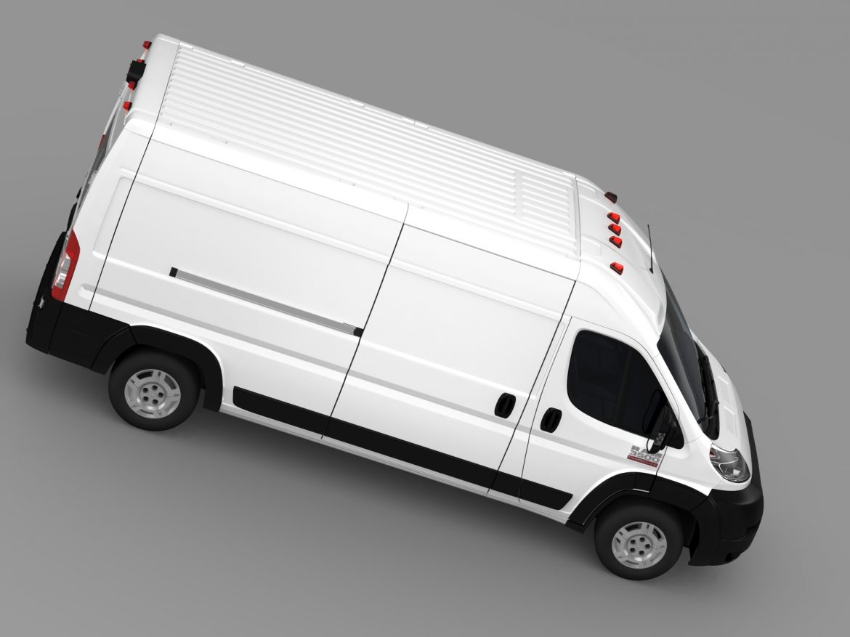 ram promaster cargo 3500 hr 159wb 2015 3d model 3ds max fbx c4d lwo ma mb hrc xsi obj 209489