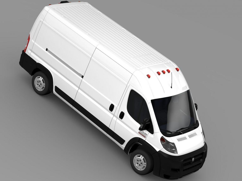 ram promaster cargo 3500 hr 159wb 2015 3d model 3ds max fbx c4d lwo ma mb hrc xsi obj 209490