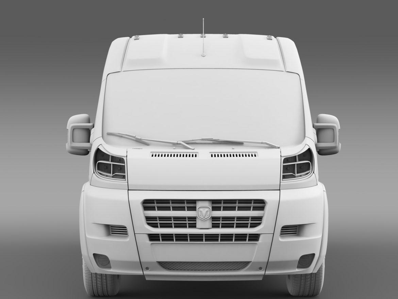 ram promaster cargo 3500 hr 159wb 2015 3d model 3ds max fbx c4d lwo ma mb hrc xsi obj 209491