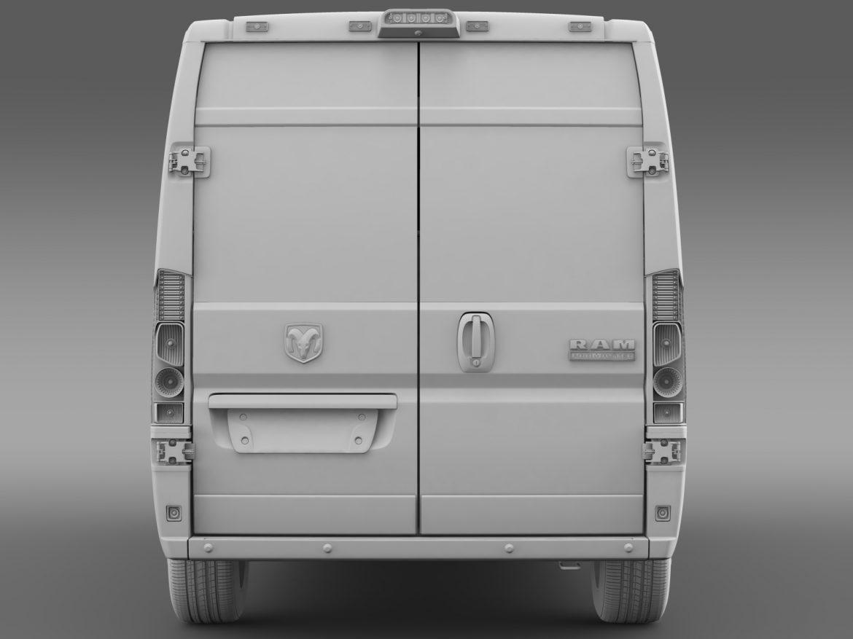 ram promaster cargo 3500 hr 159wb 2015 3d model 3ds max fbx c4d lwo ma mb hrc xsi obj 209492