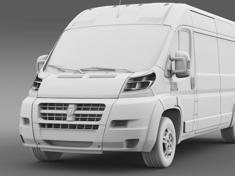 ram promaster cargo 3500 hr 159wb 2015 3d model 3ds max fbx c4d lwo ma mb hrc xsi obj 209493