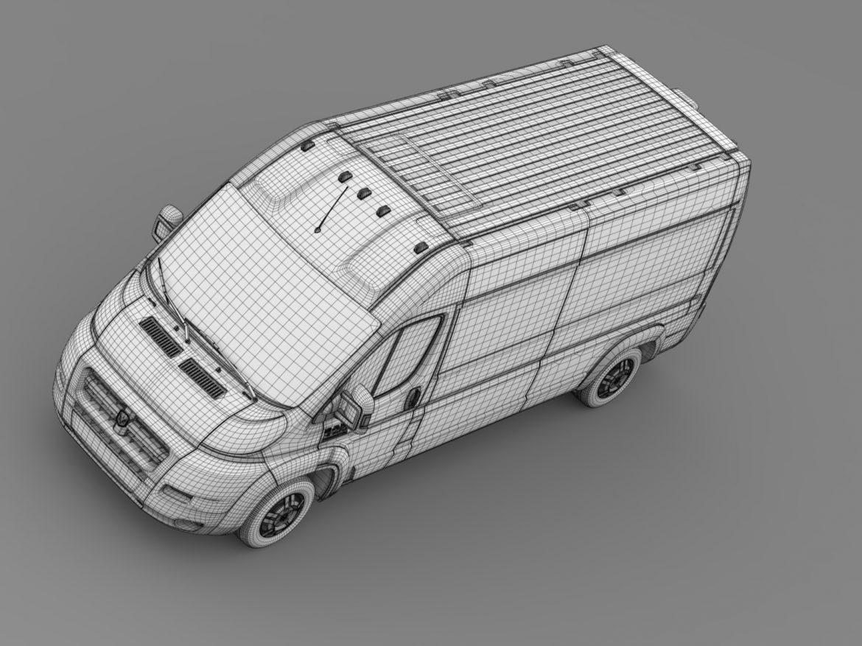 ram promaster cargo 3500 hr 159wb 2015 3d model 3ds max fbx c4d lwo ma mb hrc xsi obj 209495
