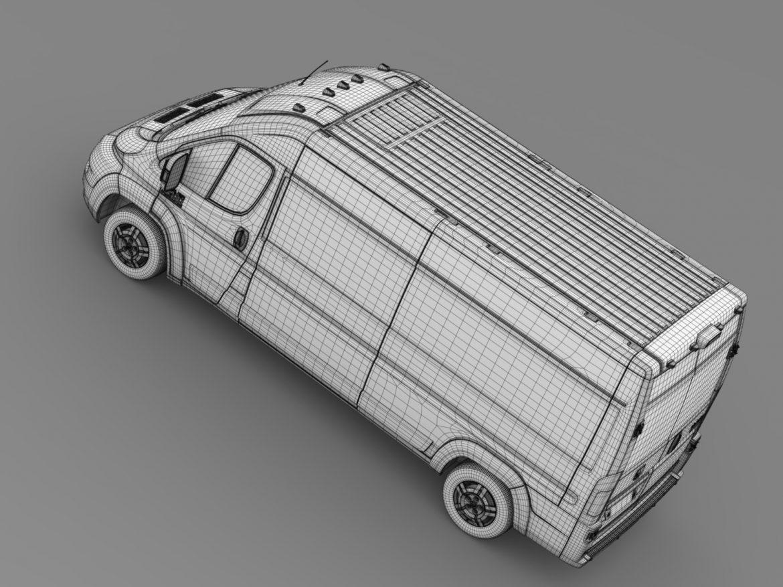 ram promaster cargo 3500 hr 159wb 2015 3d model 3ds max fbx c4d lwo ma mb hrc xsi obj 209497