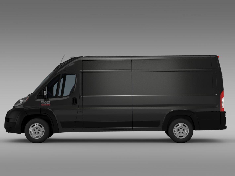 ram promaster cargo 3500 hr 159wb ext 2015 3d model 3ds max fbx c4d lwo ma mb hrc xsi obj 209506