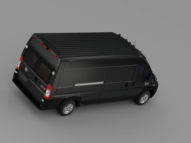 ram promaster cargo 3500 hr 159wb ext 2015 3d model 3ds max fbx c4d lwo ma mb hrc xsi obj 209509