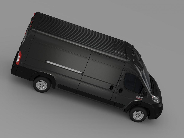 ram promaster cargo 3500 hr 159wb ext 2015 3d model 3ds max fbx c4d lwo ma mb hrc xsi obj 209510