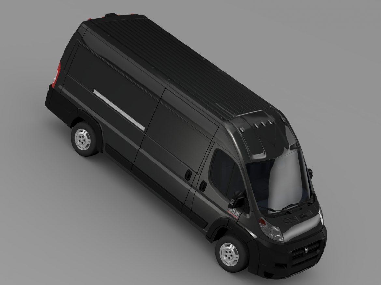 ram promaster cargo 3500 hr 159wb ext 2015 3d model 3ds max fbx c4d lwo ma mb hrc xsi obj 209511