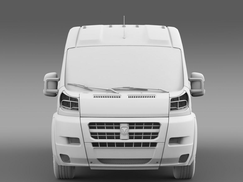 ram promaster cargo 3500 hr 159wb ext 2015 3d model 3ds max fbx c4d lwo ma mb hrc xsi obj 209512