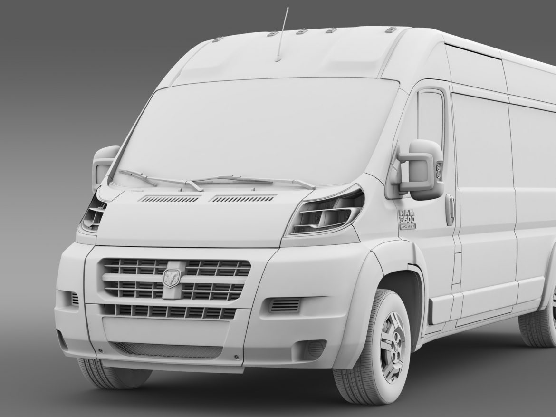 ram promaster cargo 3500 hr 159wb ext 2015 3d model 3ds max fbx c4d lwo ma mb hrc xsi obj 209513