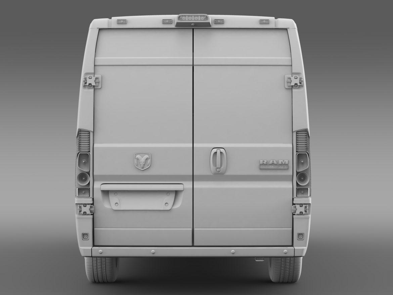 ram promaster cargo 3500 hr 159wb ext 2015 3d model 3ds max fbx c4d lwo ma mb hrc xsi obj 209514