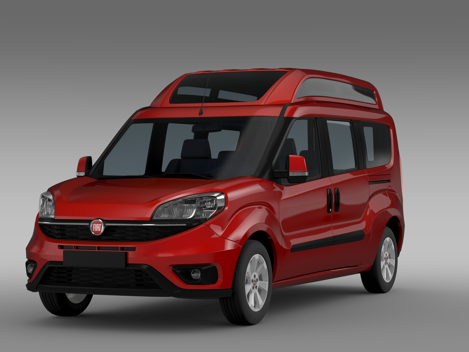 fiat doblo highroof maxi 263 2015 3d model buy fiat doblo highroof maxi 263 2015 3d model. Black Bedroom Furniture Sets. Home Design Ideas