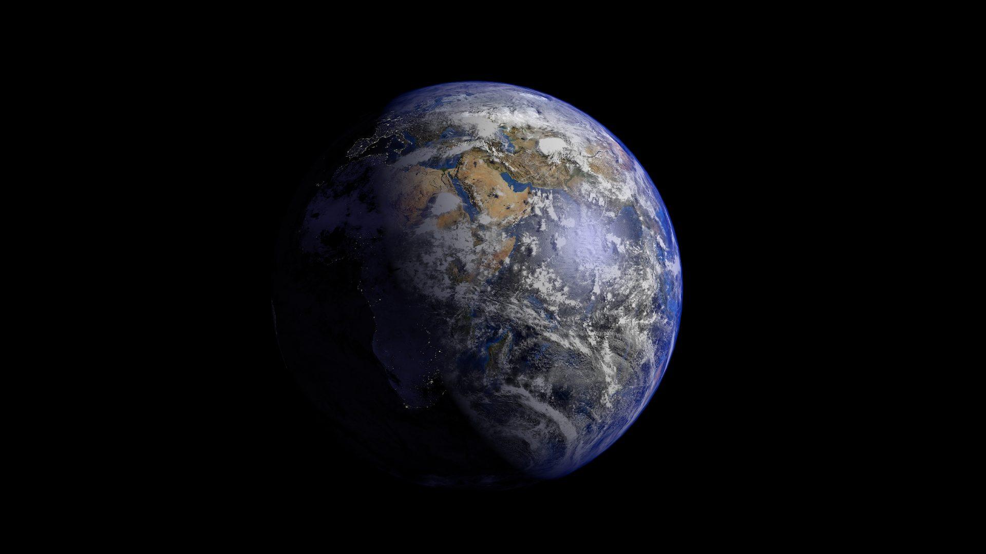earth 3d model 3ds fbx blend dae obj 209731
