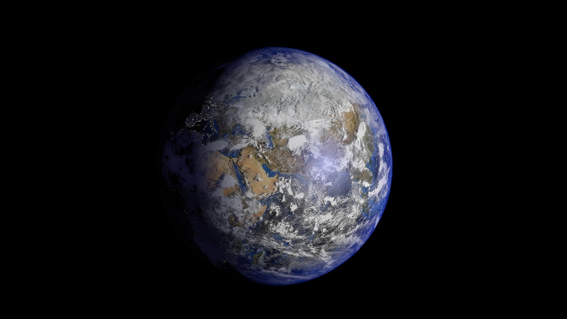 earth 3d model 3ds fbx blend dae obj 209734