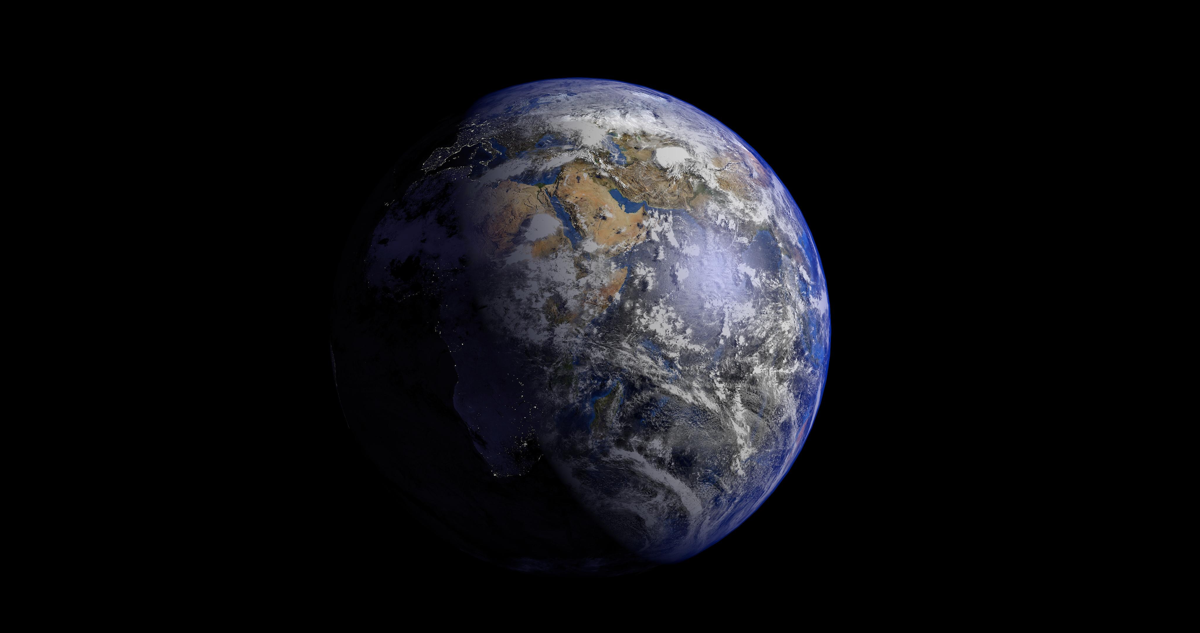 earth 3d model 3ds fbx blend dae obj 209735