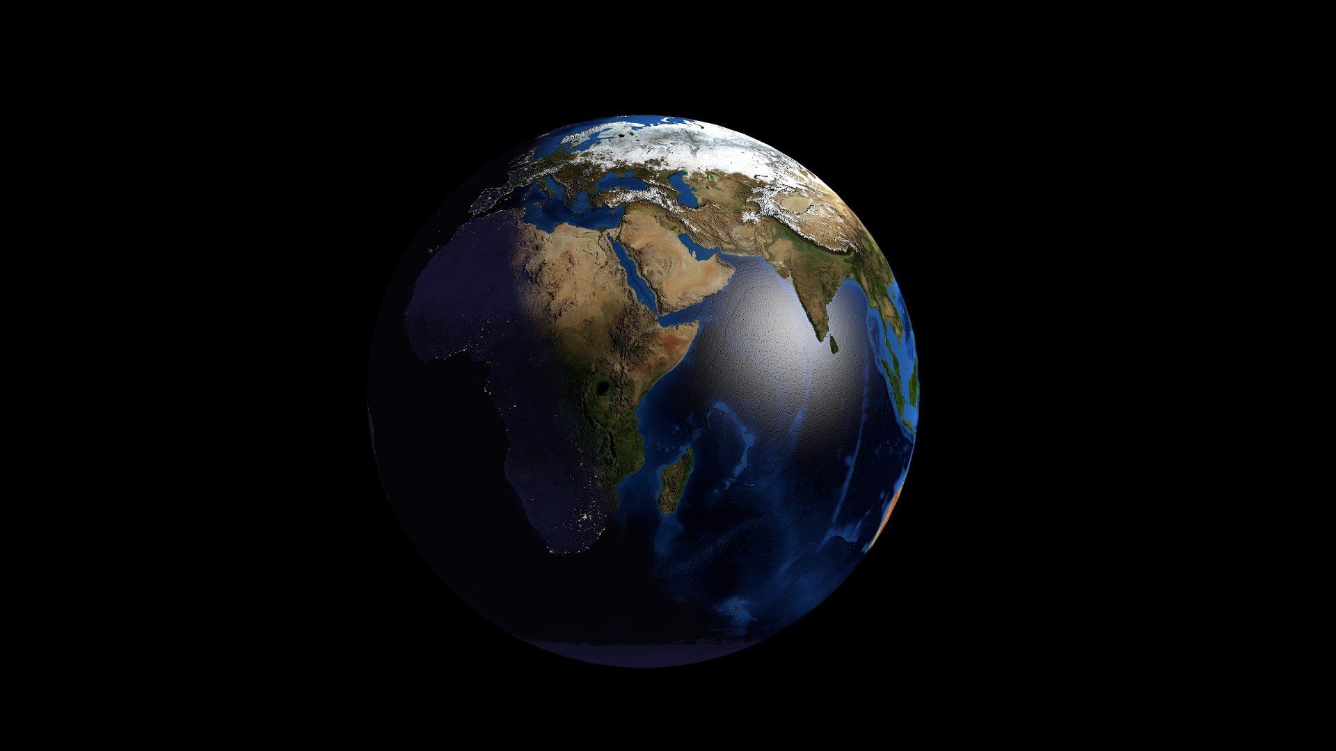 earth 3d model 3ds fbx blend dae obj 209737