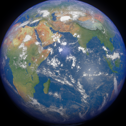 Earth 16k ( 28953.21KB png by FlashMyPixel )