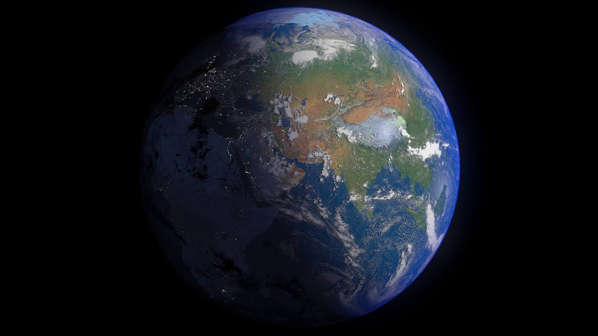 earth 16k - #2 3d modeļa 3ds fbx blend dae obj 209754