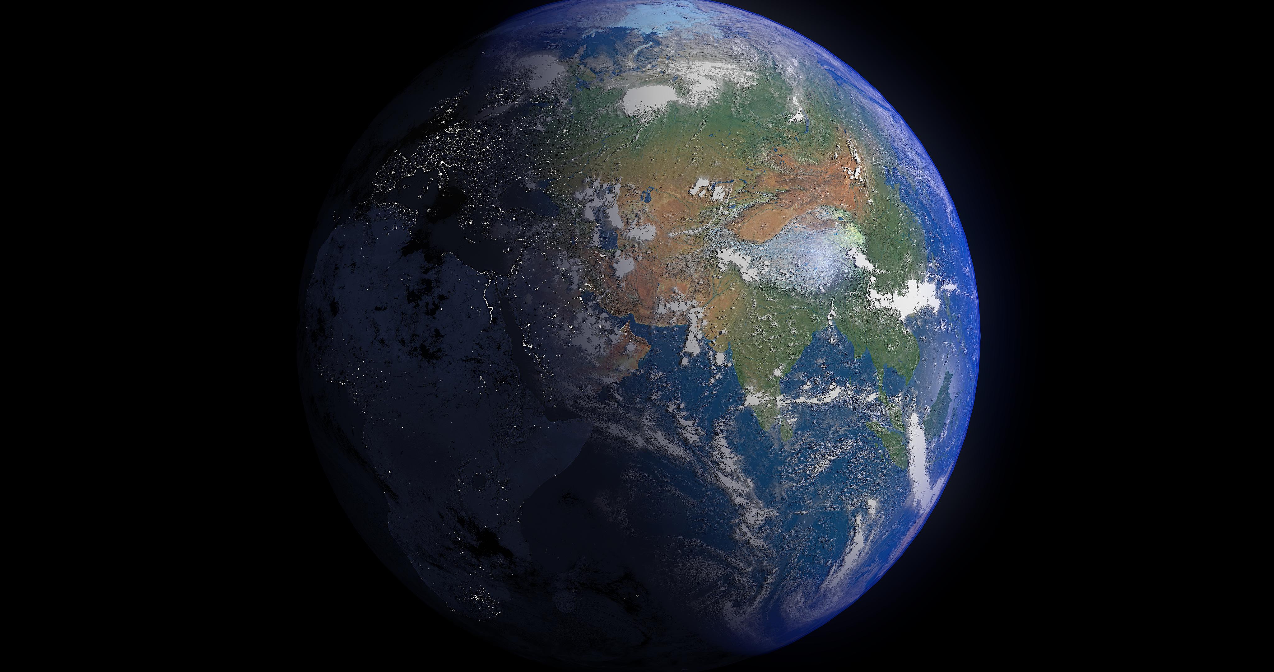 earth 16k - #2 3d modeļa 3ds fbx blend dae obj 209755