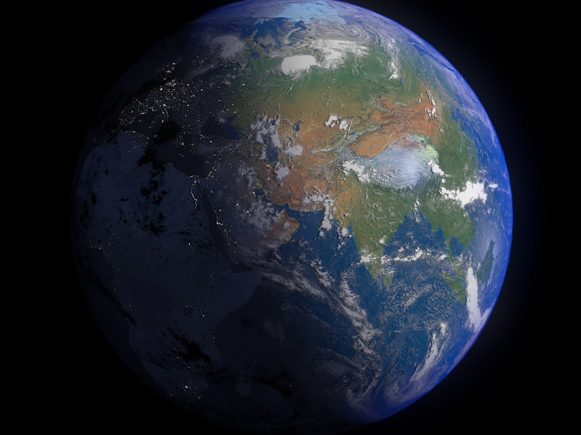Earth 16k ( 27322.14KB png by FlashMyPixel )