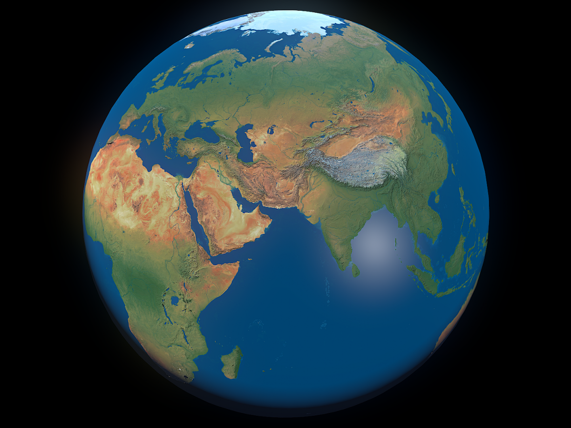 Earth 16k ( 16227.34KB png by FlashMyPixel )