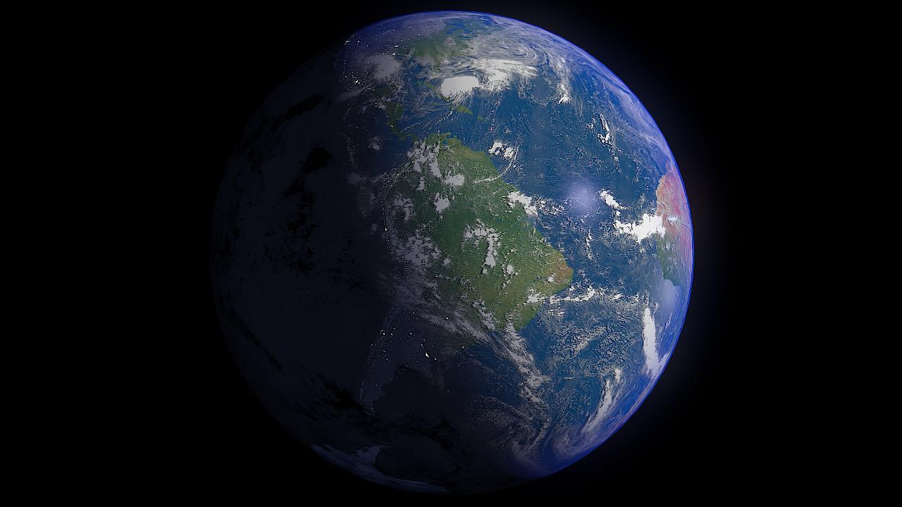 earth 16k - #2 3d modeļa 3ds fbx blend dae obj 209763