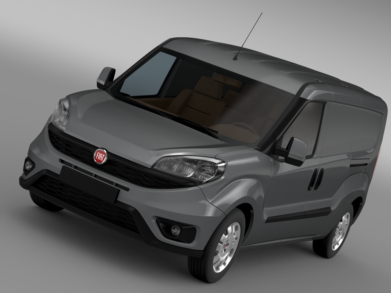fiat doblo cargo maxi 263 2015 3d model flatpyramid. Black Bedroom Furniture Sets. Home Design Ideas