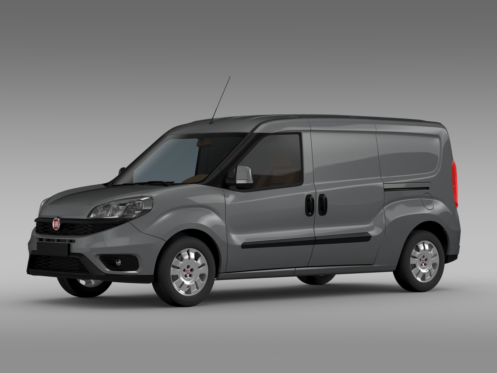 fiat doblo cargo maxi 263 2015 3d model buy fiat doblo. Black Bedroom Furniture Sets. Home Design Ideas