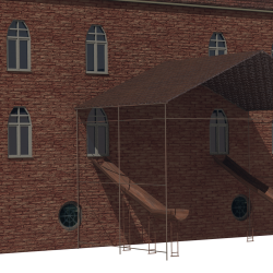 Old Factory 3d model 3ds
