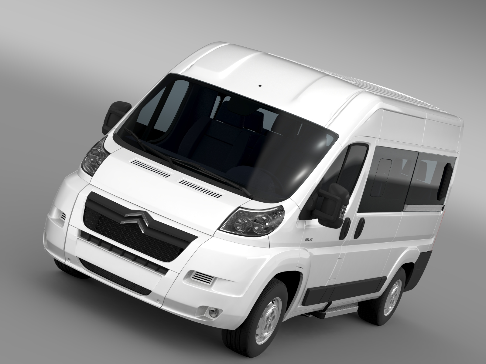 citroen relay window van l2h2 2006-2014 3d model 3ds max fbx c4d lwo ma mb hrc xsi obj 210071