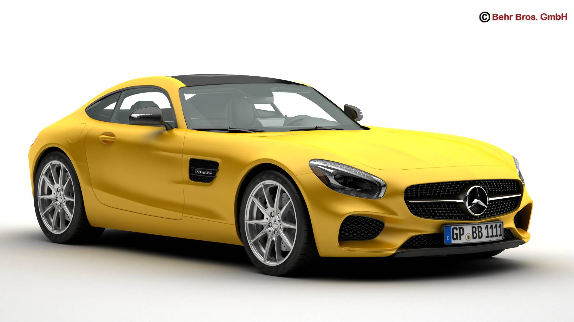 mercedes amg gt 2015 eu and us version 3d model 3ds max fbx c4d lwo ma mb obj 210113