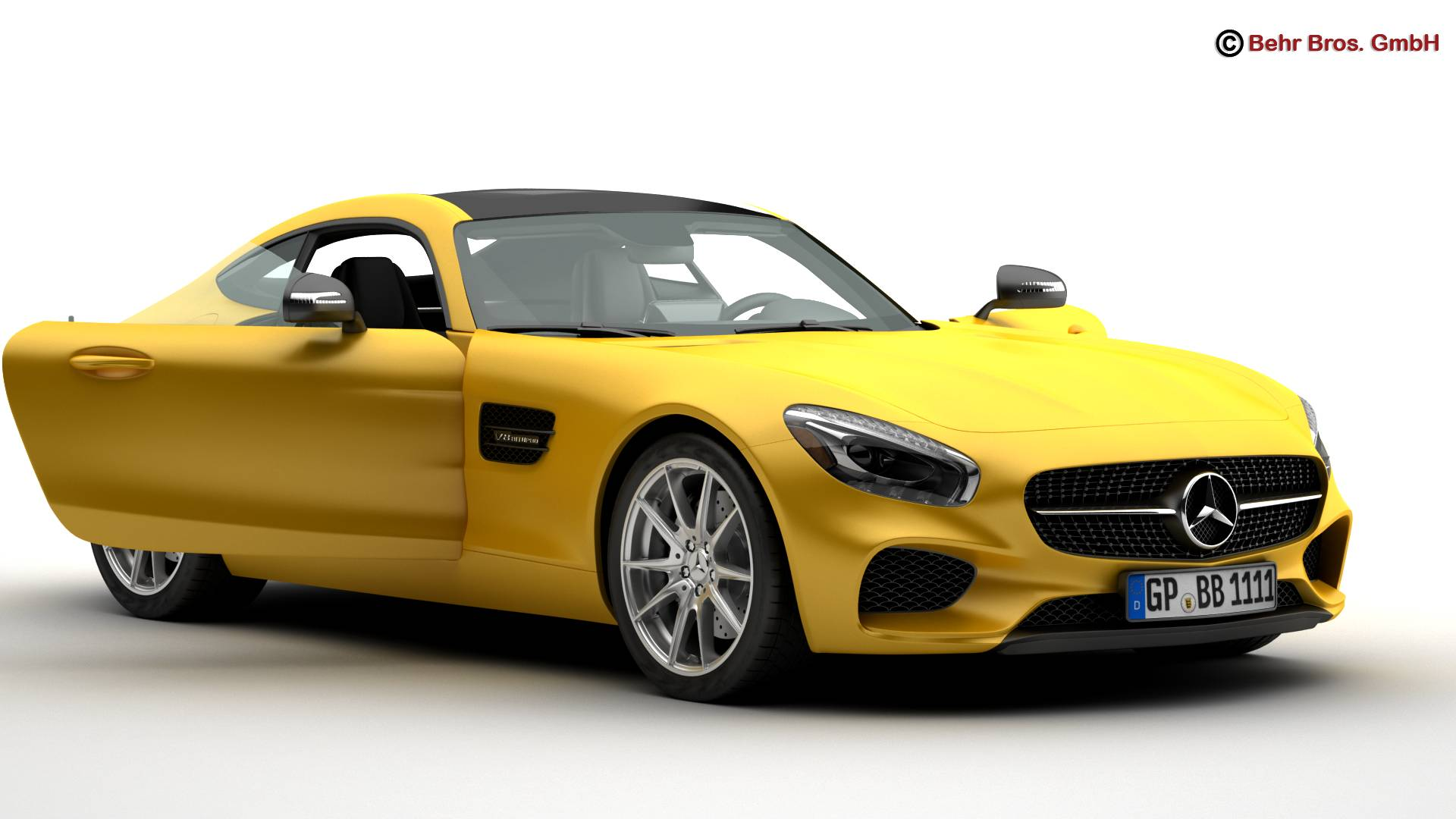mercedes amg gt 2015 eu and us version 3d model 3ds max fbx c4d lwo ma mb obj 210114