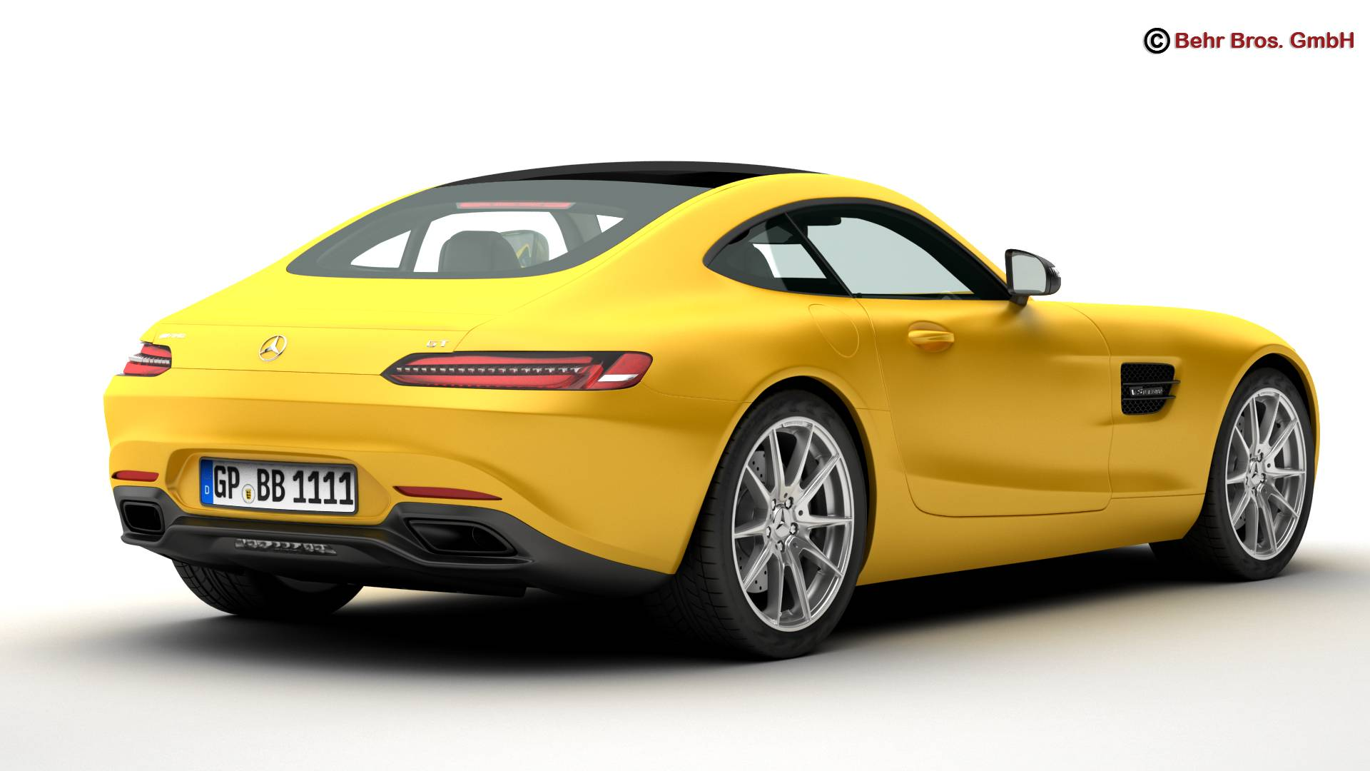 mercedes amg gt 2015 eu and us version 3d model 3ds max fbx c4d lwo ma mb obj 210115