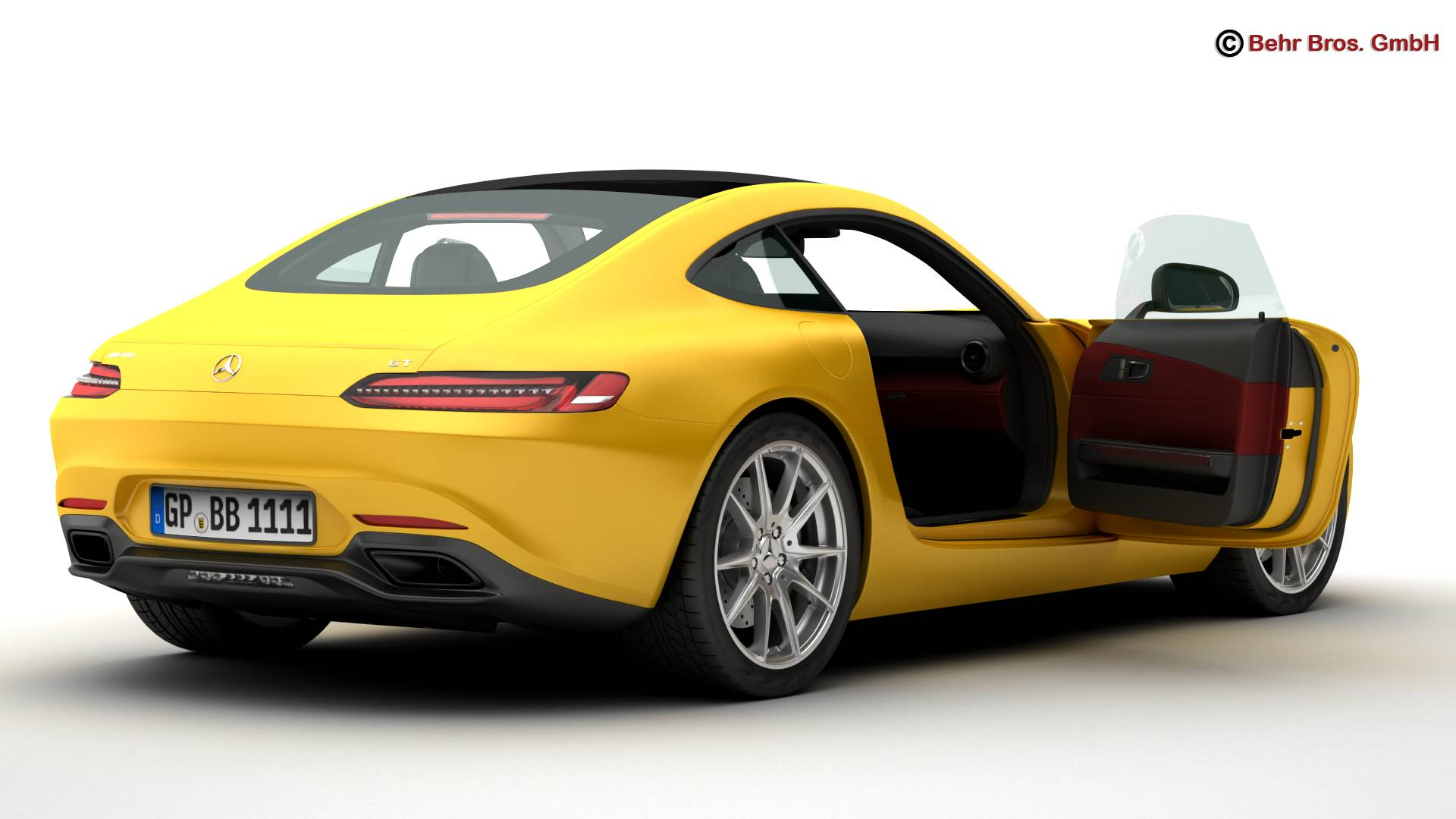 mercedes amg gt 2015 eu and us version 3d model 3ds max fbx c4d lwo ma mb obj 210116