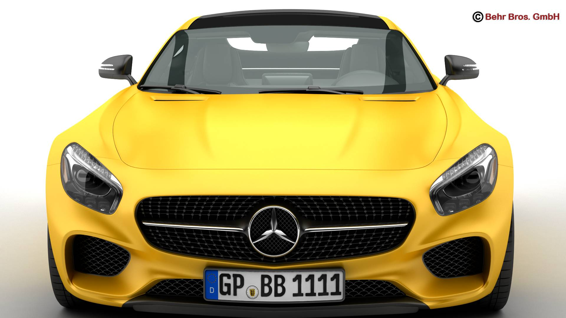 mercedes amg gt 2015 eu and us version 3d model 3ds max fbx c4d lwo ma mb obj 210118