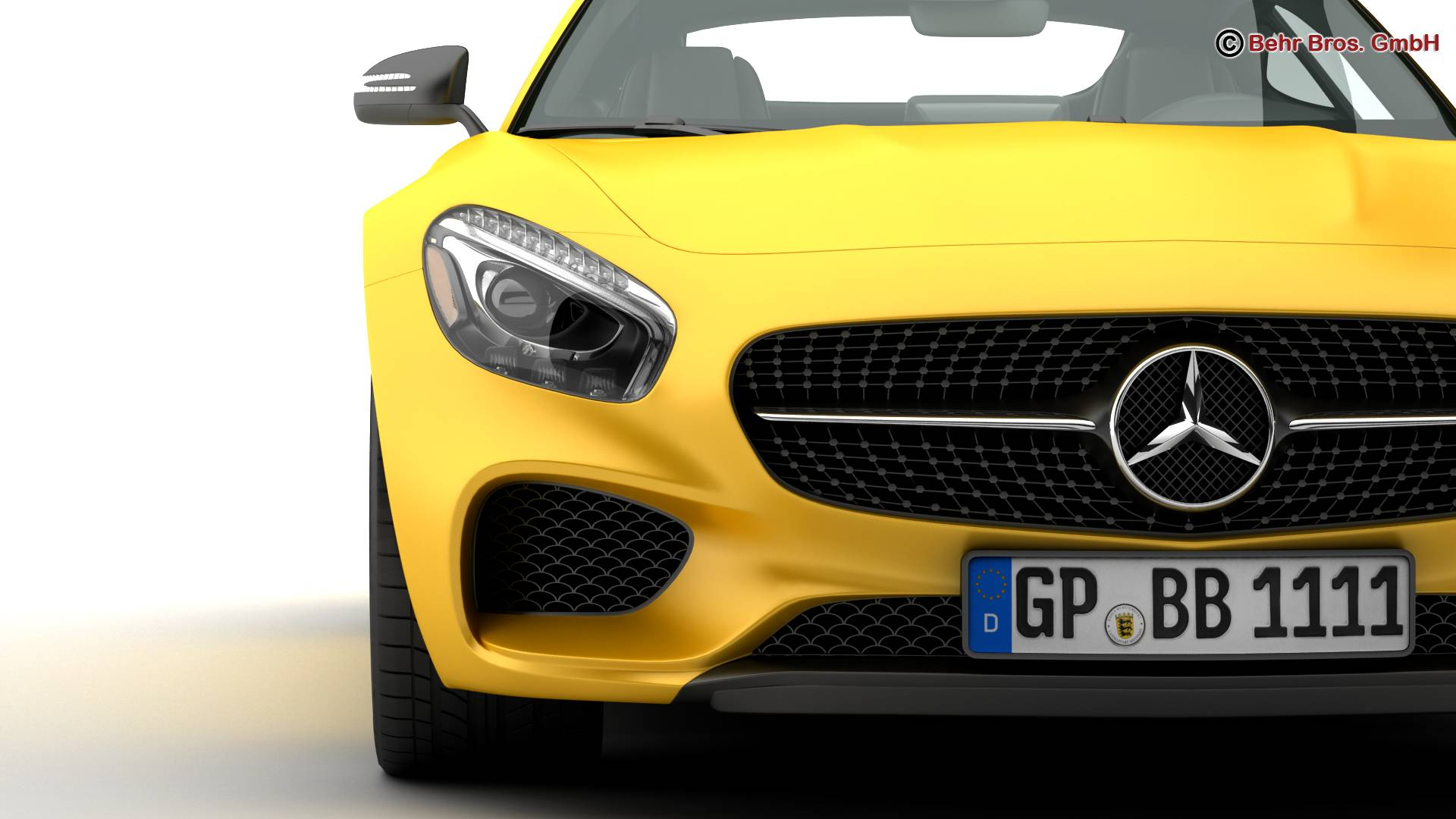 mercedes amg gt 2015 eu and us version 3d model 3ds max fbx c4d lwo ma mb obj 210119